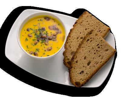 Kürbiskern-Kokos-Suppe